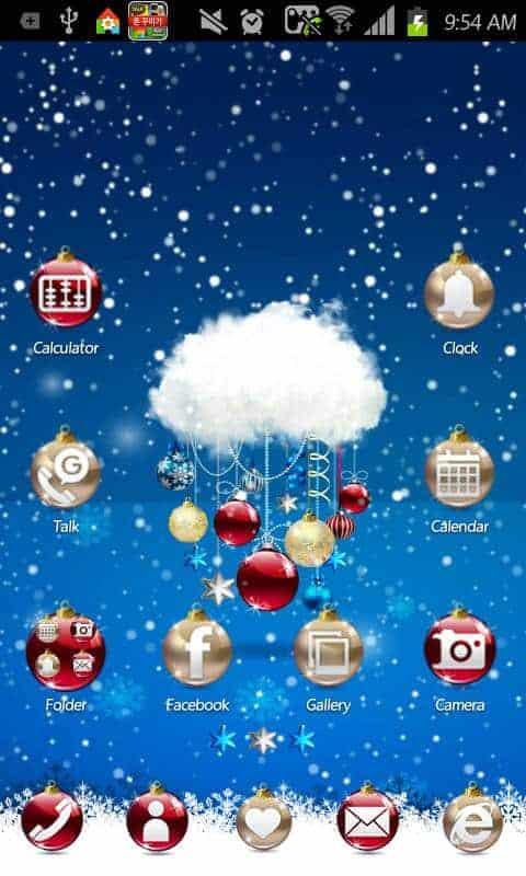Merry Christmas Icon theme