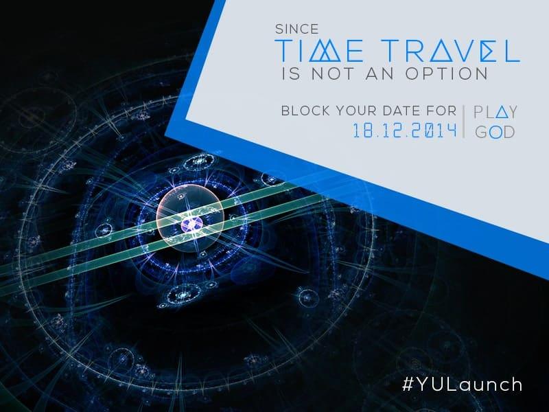 Micromax YU event invite