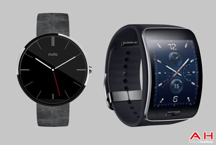 Smartwatch Comparisons: Motorola Moto 360 vs Samsung Gear S