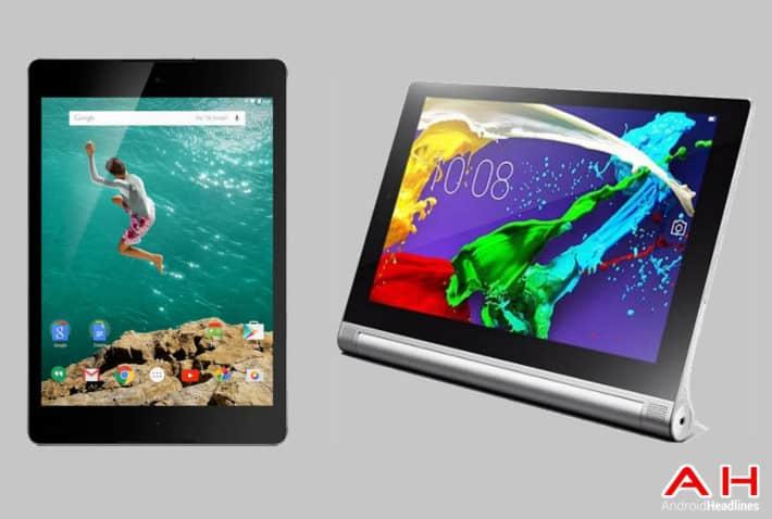 Tablet Comparisons: Nexus 9 vs Lenovo Yoga 2 10
