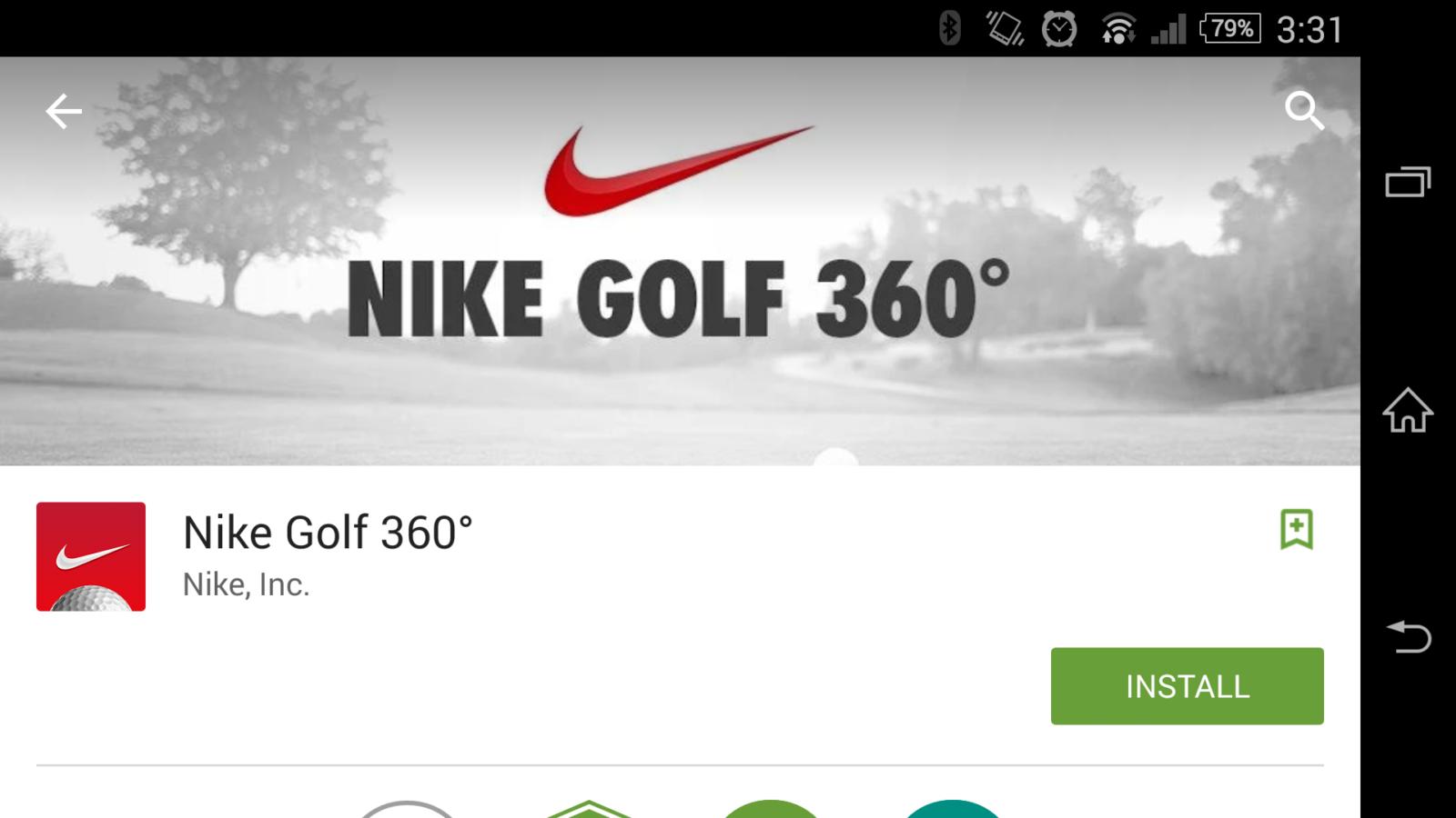 Nike Golf 360