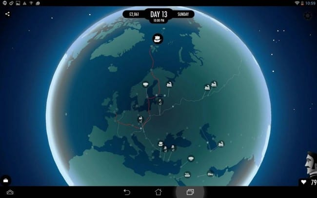 Race Around The World In 80 Days