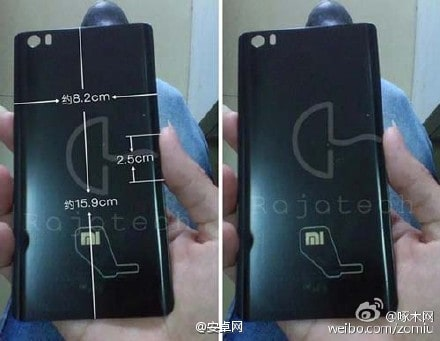 Redmi Note 2 back panel leak