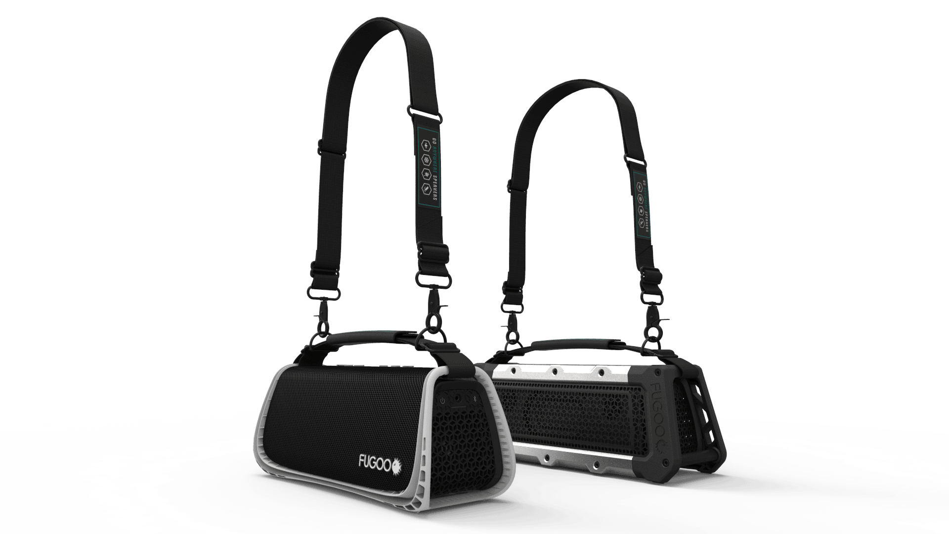 SPORT XL and TOUGH XL with Straps low angle