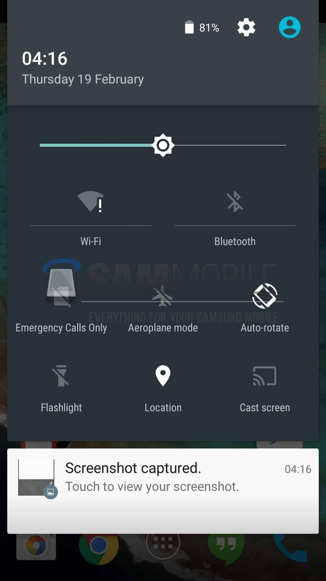 Samsung Galaxy S4 Lollipop beta5
