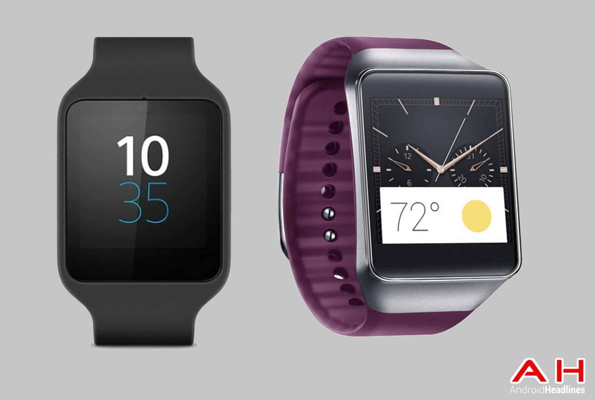 Gear Watch 3 Sony Smartwatch 3 vs Gear Live