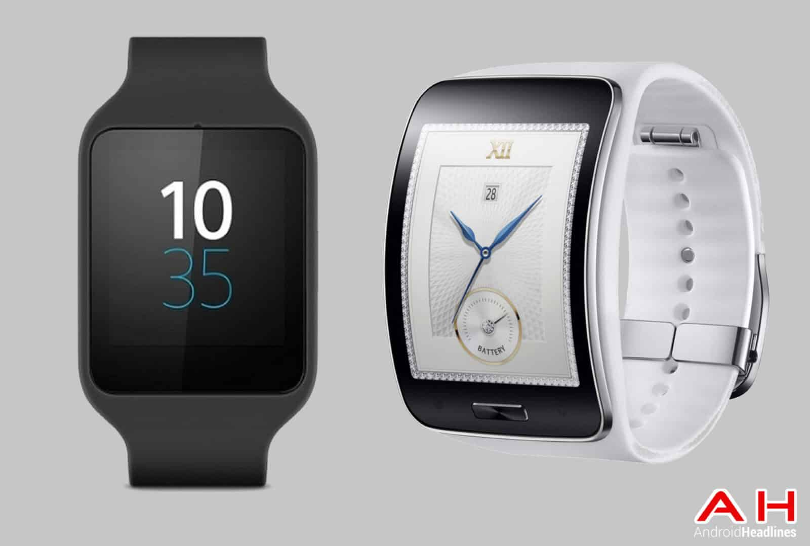 smartwatch comparisons sony smartwatch 3 vs samsung gear s android news. Black Bedroom Furniture Sets. Home Design Ideas