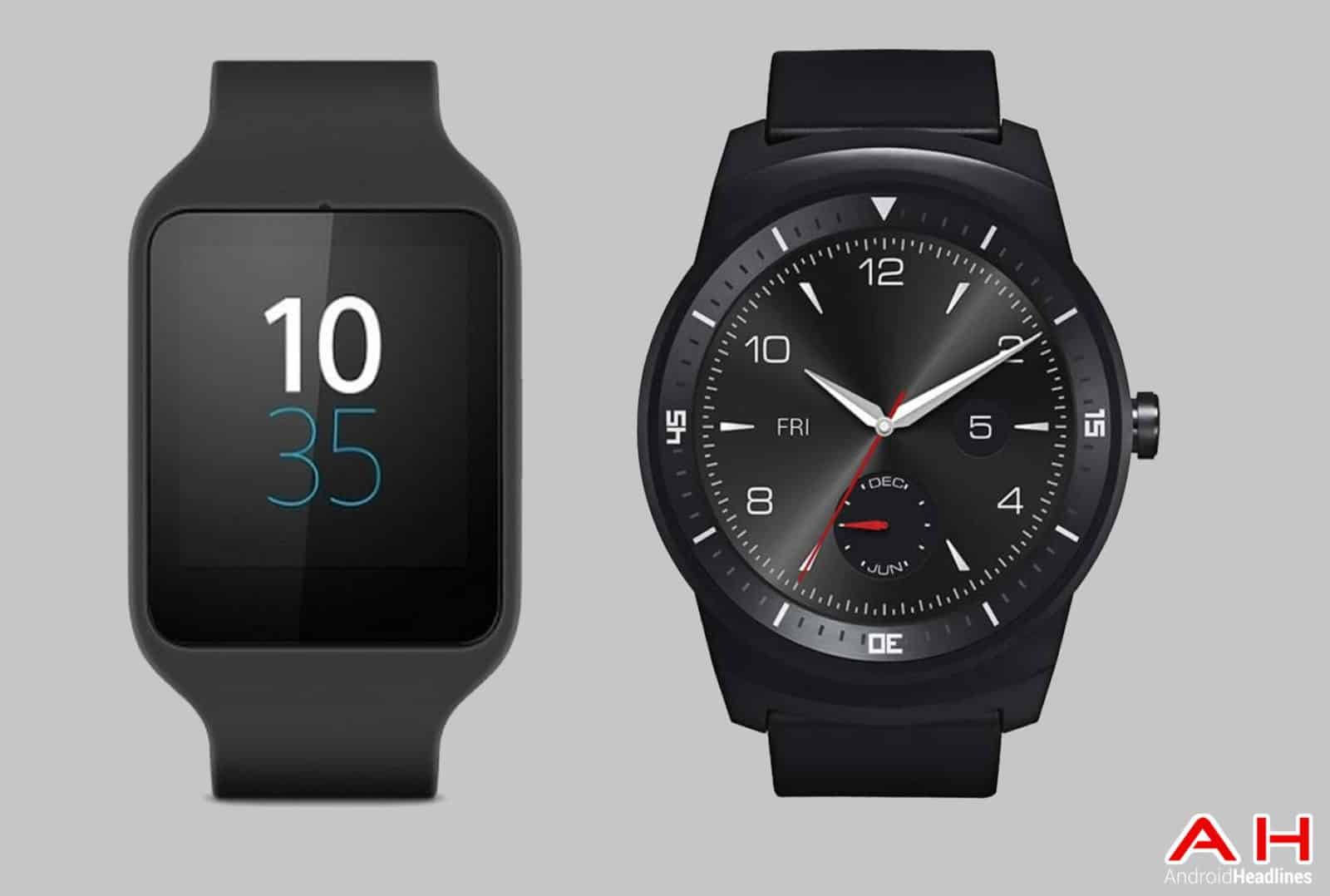 smartwatch comparisons sony smartwatch 3 vs lg g watch r android news. Black Bedroom Furniture Sets. Home Design Ideas