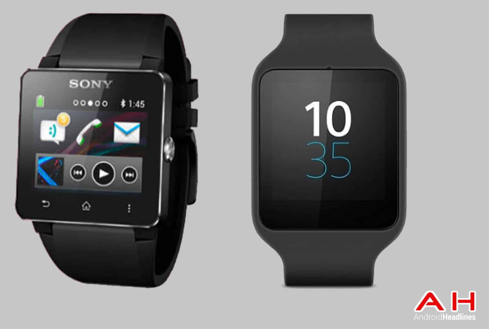 smartwatch comparisons sony smartwatch 2 vs sony smartwatch 3 android news. Black Bedroom Furniture Sets. Home Design Ideas