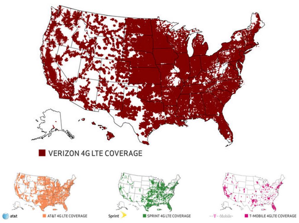 Verizon-ATT-Sprint-TMobile Survey