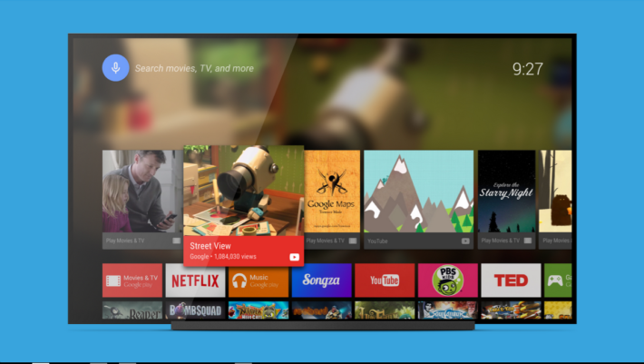 Android TV Launcher App Lands On The Play Store For Faster Updating