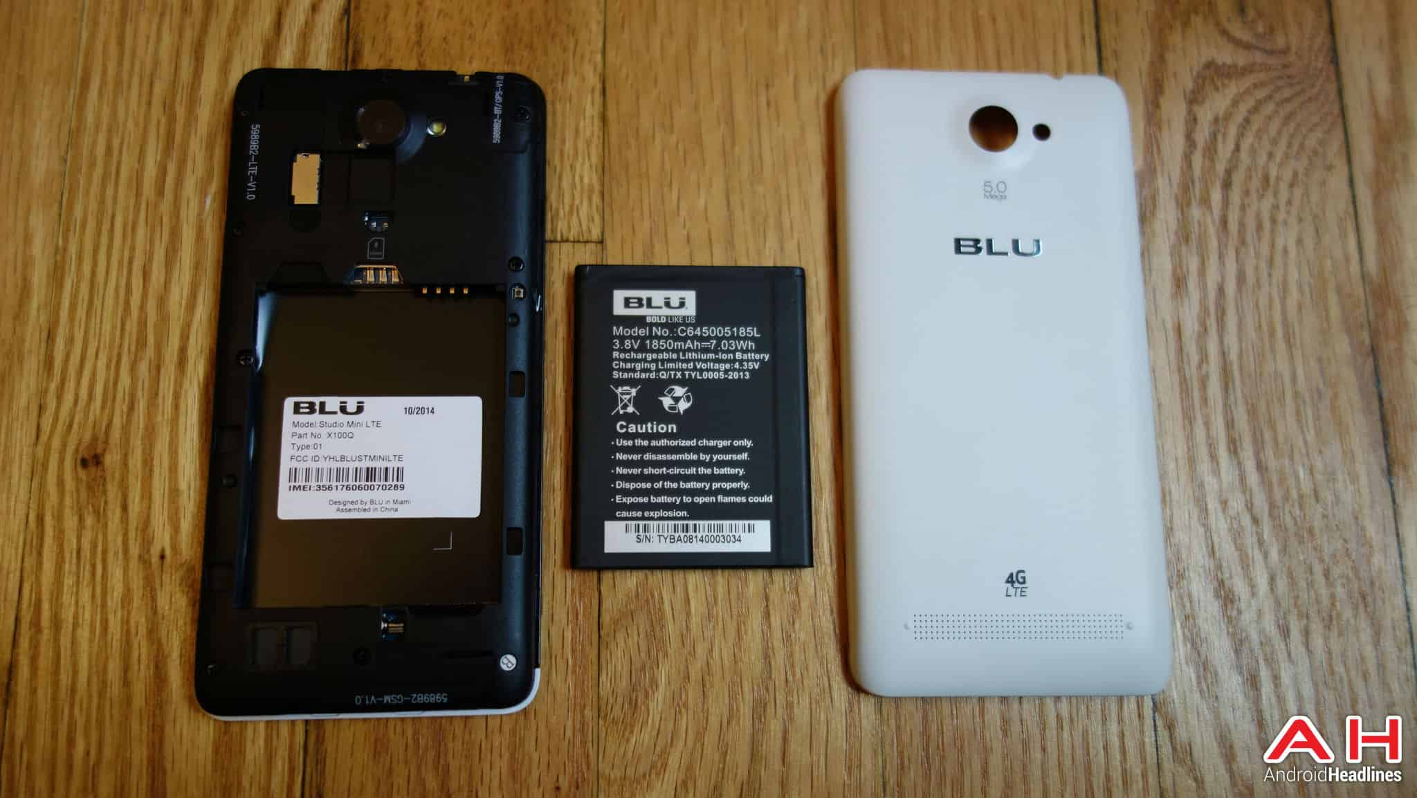 blu studio mini lte 5