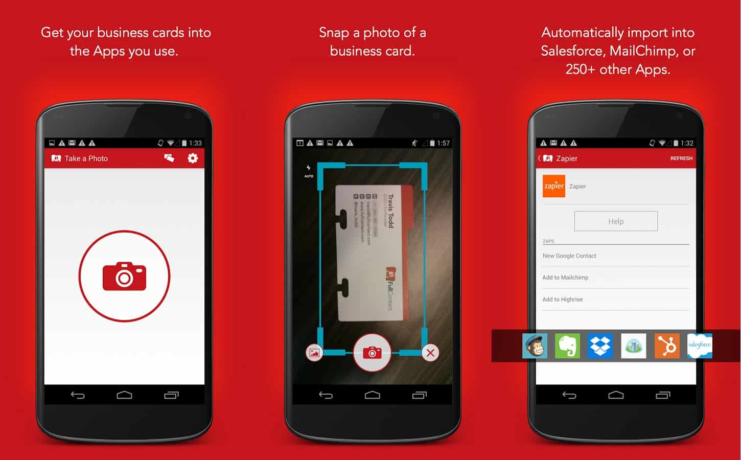 Featured top 10 business card scanner apps for android drippler fullcontact colourmoves