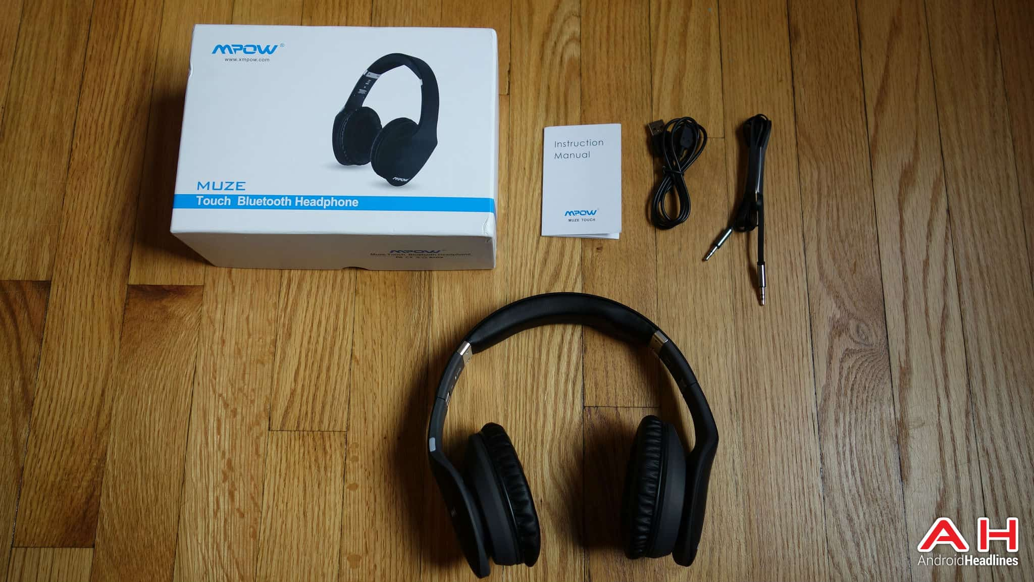 mpow muze touch bluetooth headphones 10