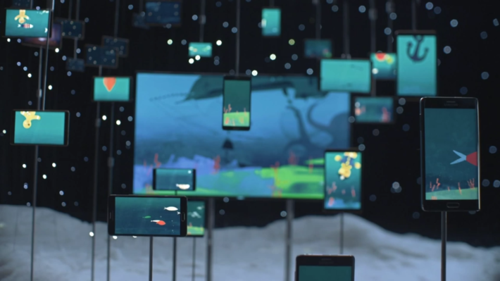 Samsung Release New Christmas Animated Short Featuring Over Seventy Samsung Devices