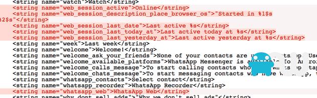 whatsapp code