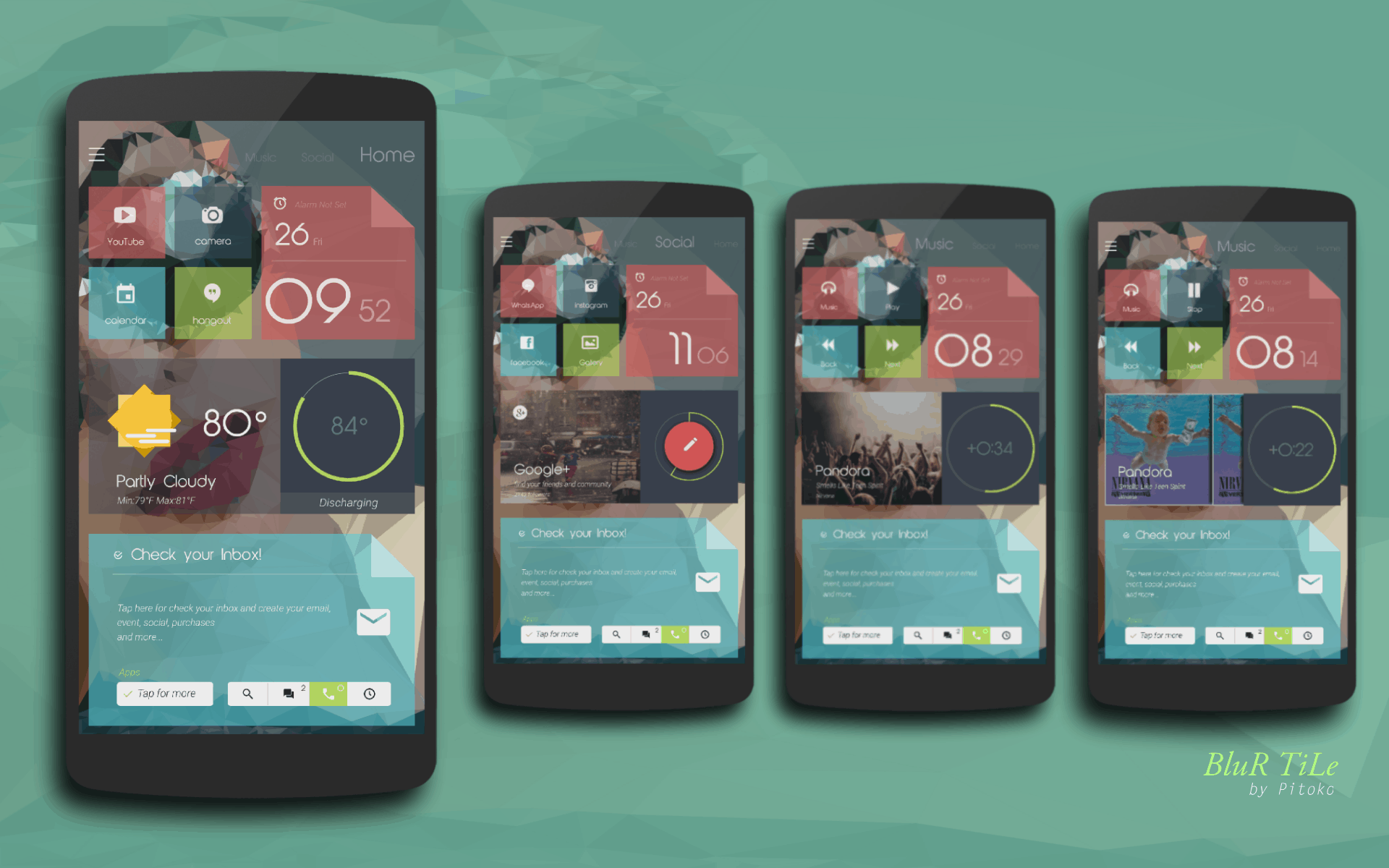 Top Android Homescreen January 2nd Edition: Blur Tile ...