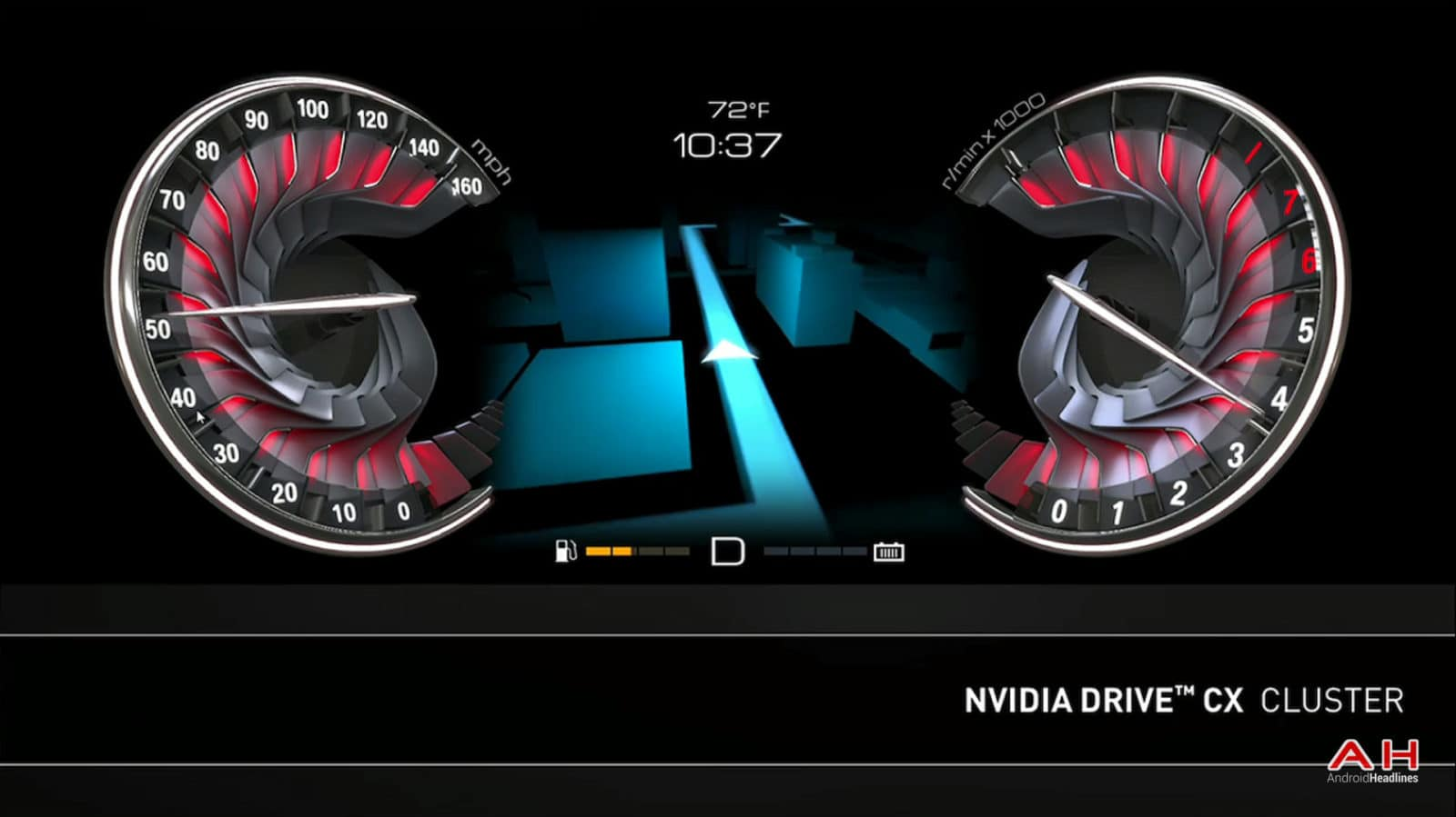 AH Nvidia Drive CX Cluster-1