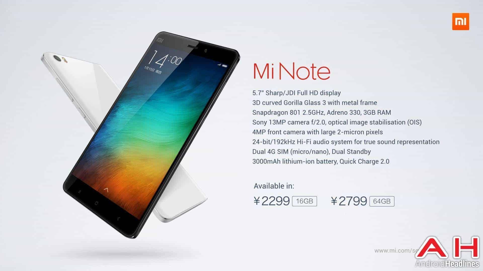 AH Xiaomi Note 71