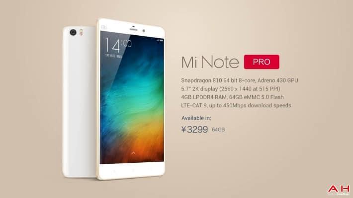 AH Xiaomi Note Pro-2