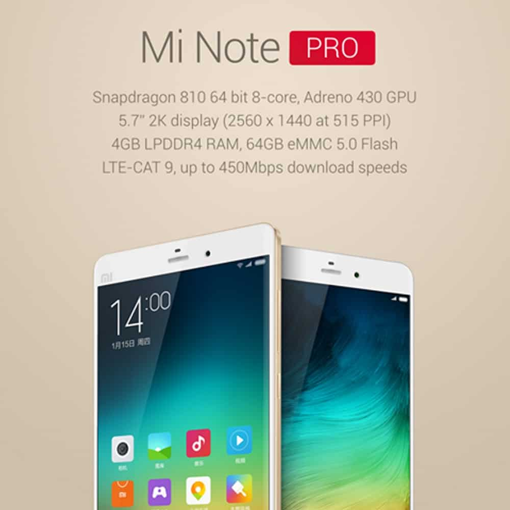 AH Xiaomi Note Pro 3