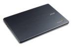 Acer C740 Chromebook closed flat