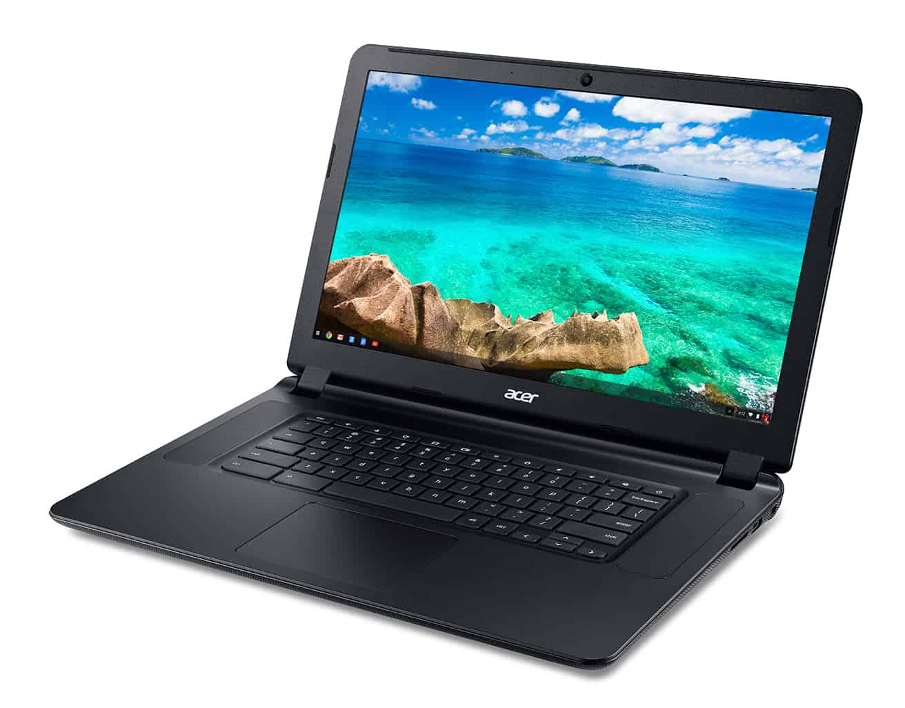 Acer C910 Chromebook left facing1