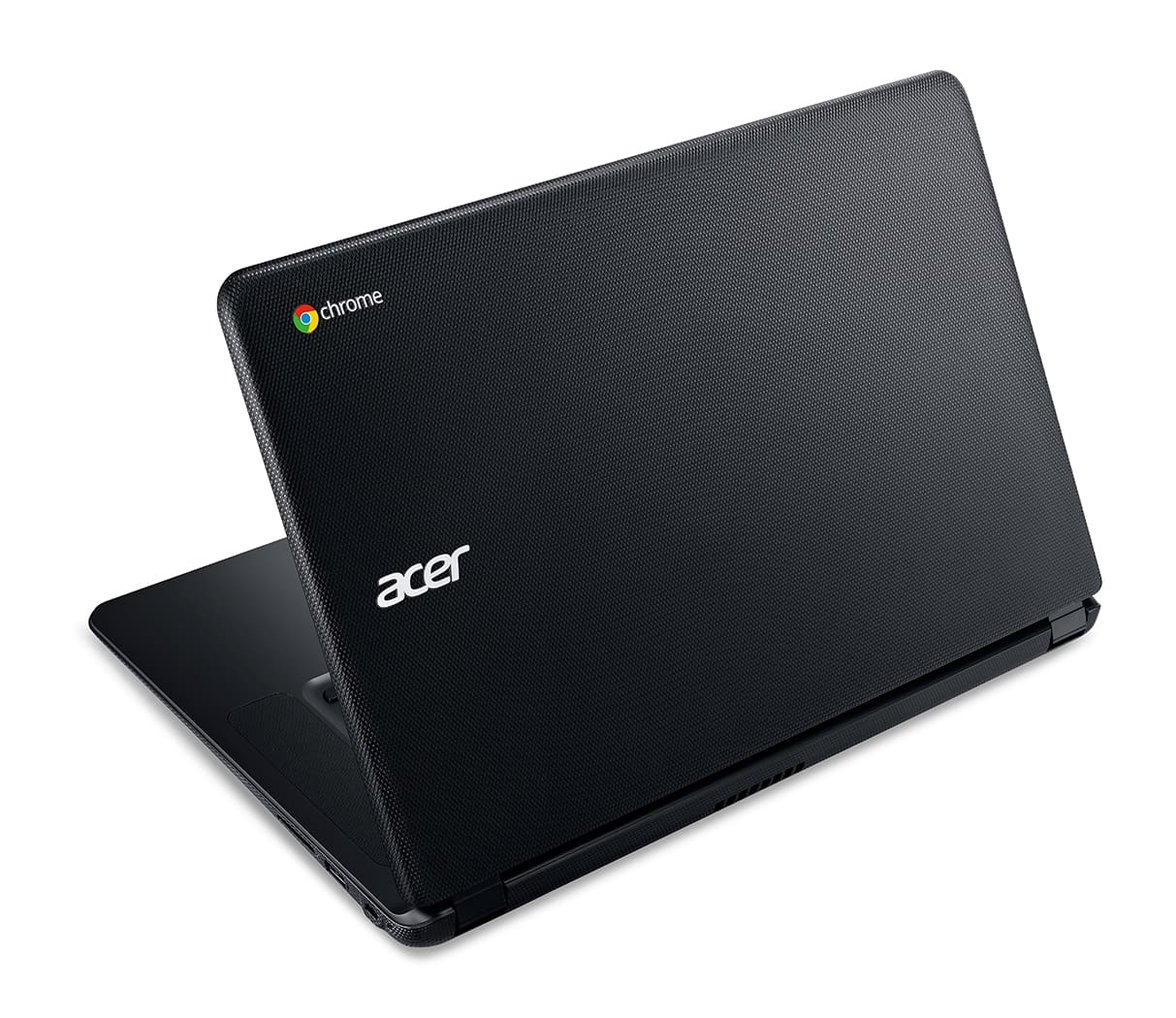 Acer C910 Chromebook rear left facing