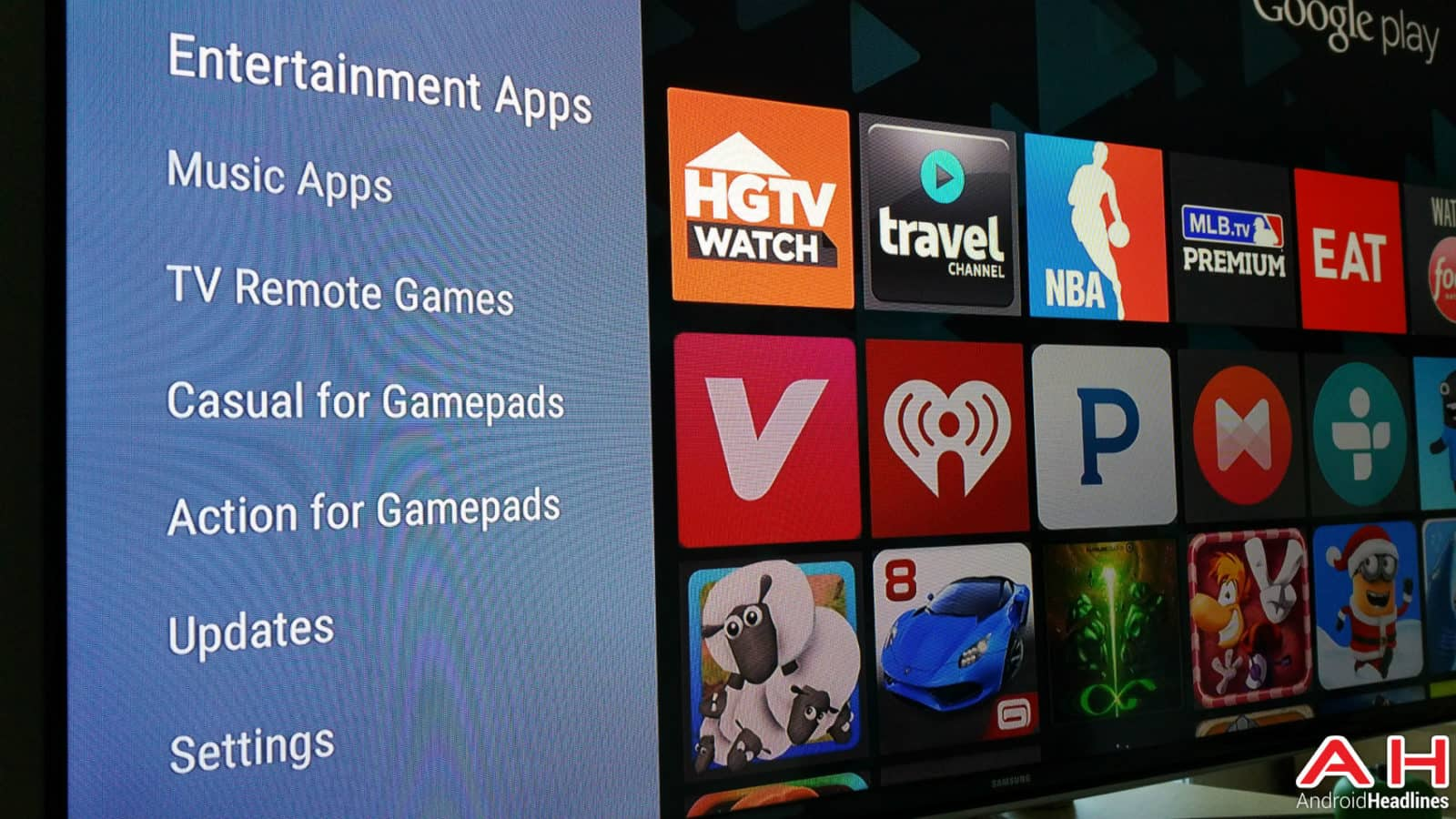 Android TV Apps AH