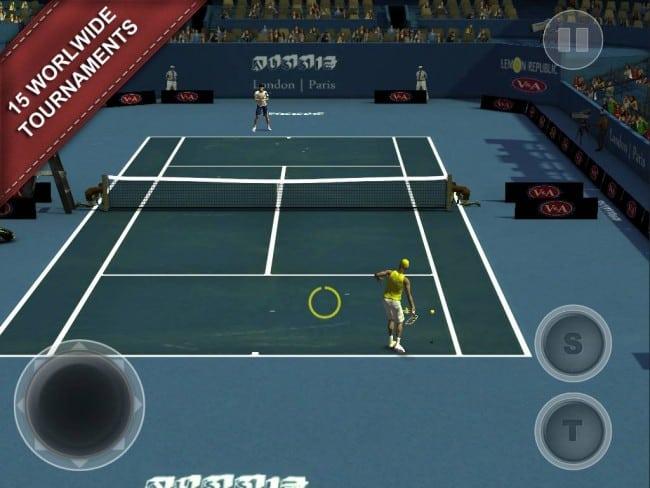 Cross court Tennis 2