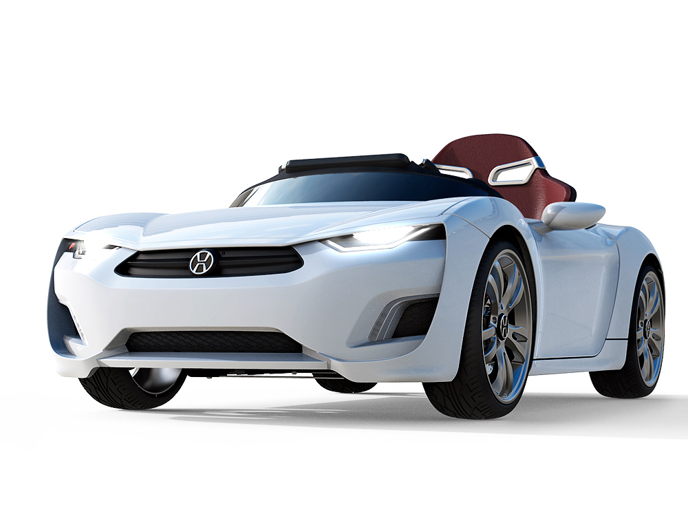 henes broon f870 is a real electric sports car for your kid