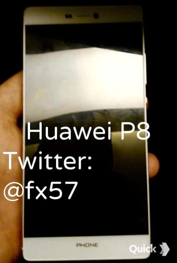Huawei P8 alleged image