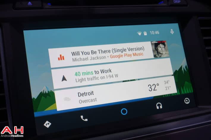 First Android Auto Cars hit the Road This Week