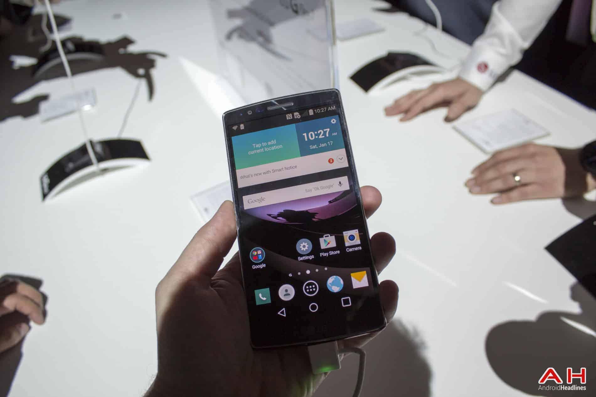 LG G Flex 2 Hands On AH 5