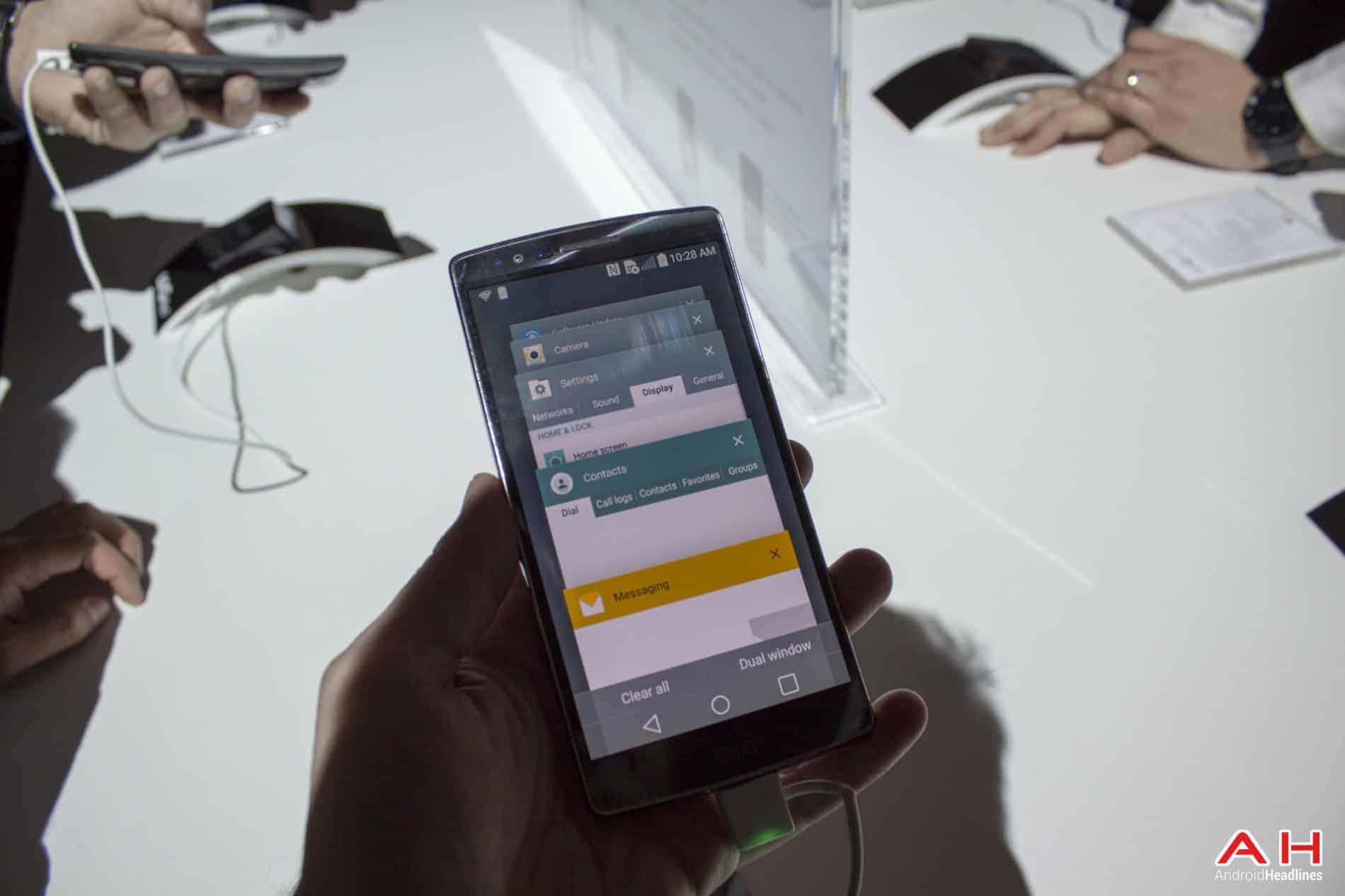LG G Flex 2 Hands On AH 7
