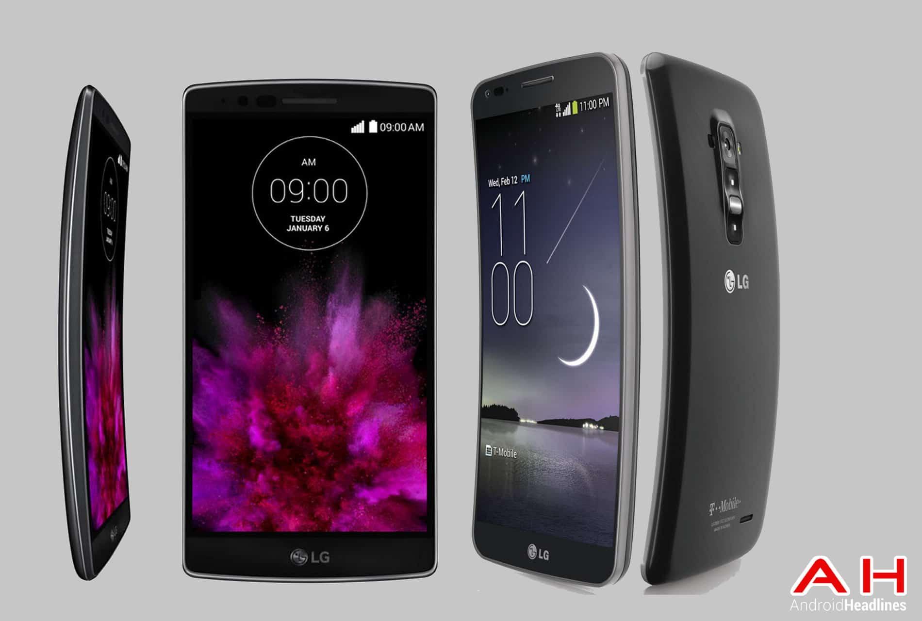 LG G Flex 2 vs G Flex cam2 AH