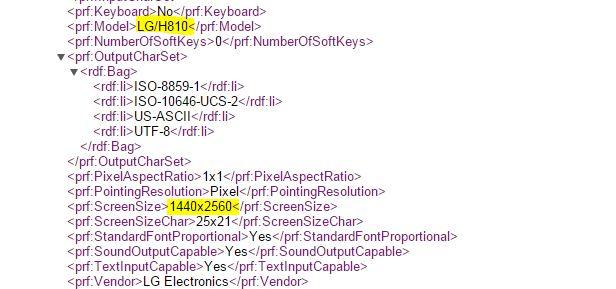 LG G4 AT&T H810 Leak