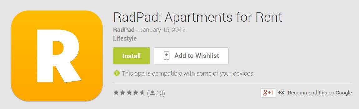 RadPad Play Store