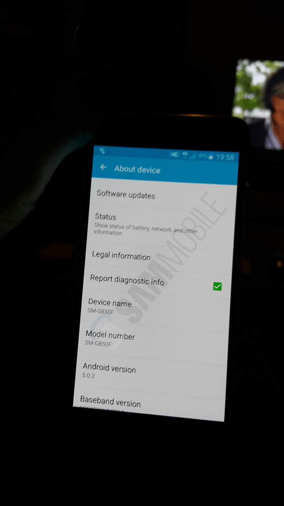 SamMobile Galaxy Alpha Lollipop Leak