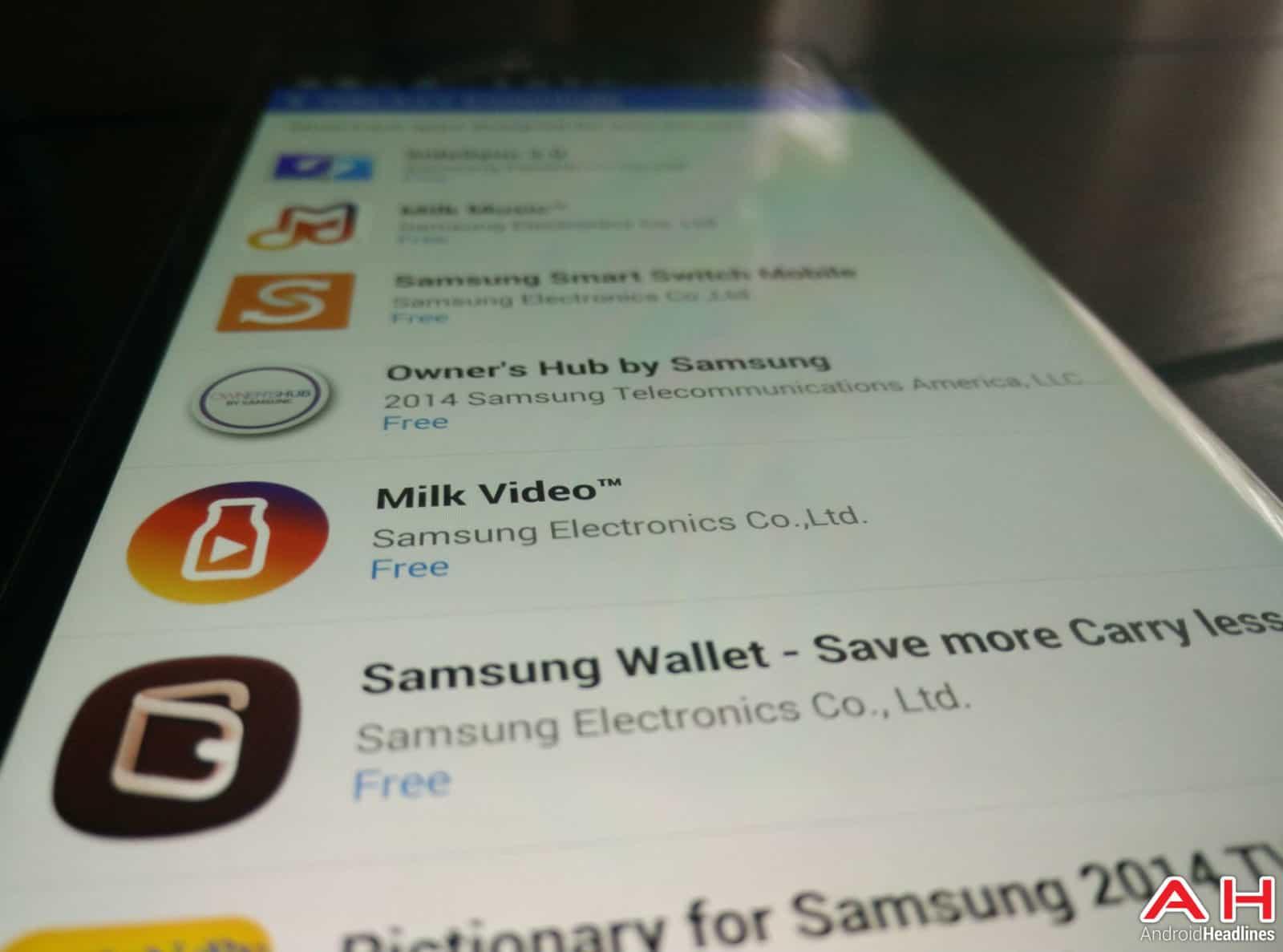 Samsung Apps AH