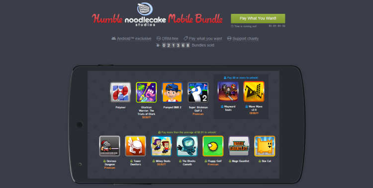 Humble Noodlecake Bundle