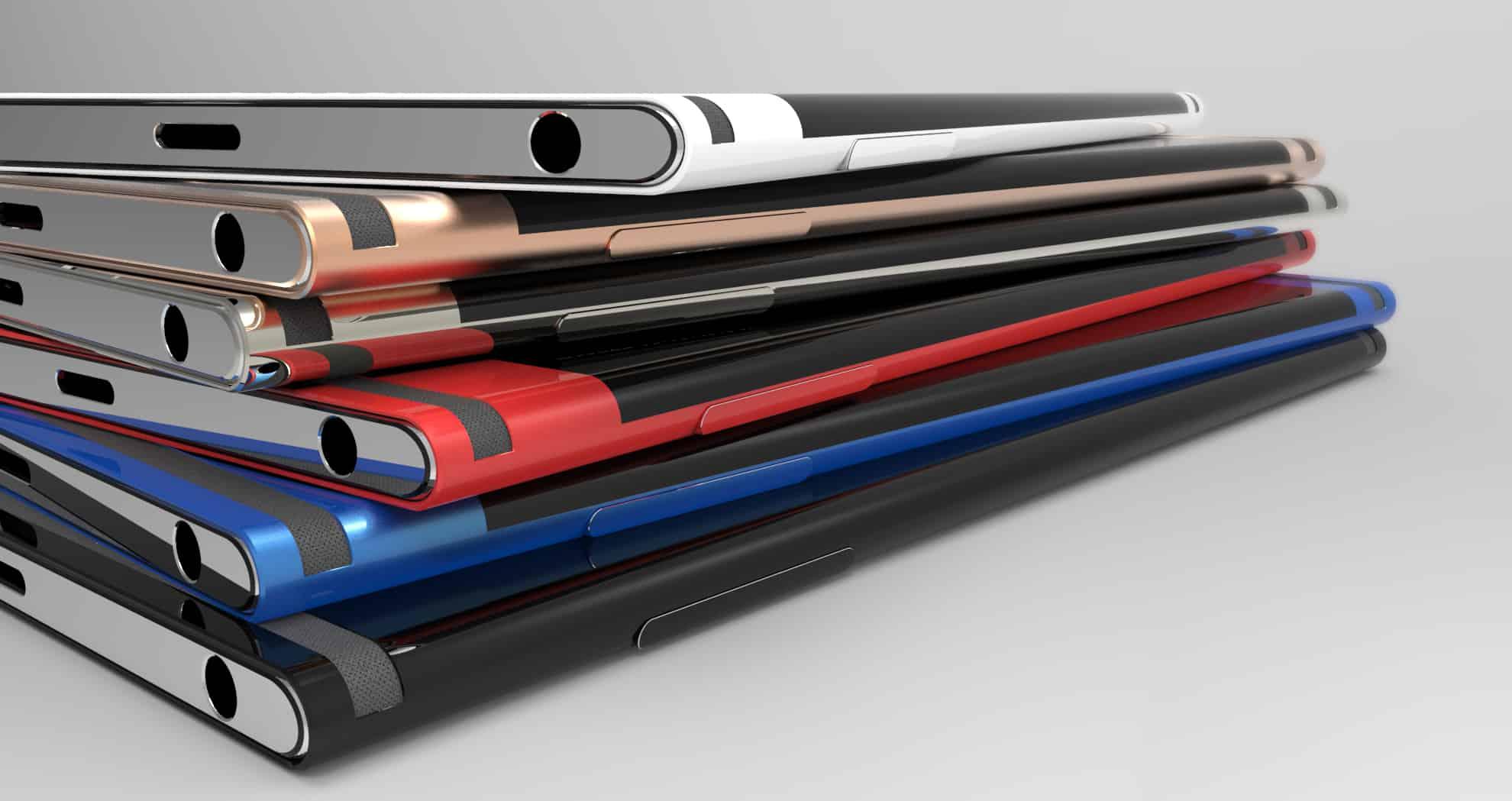 Sony Xperia Curve concept 5