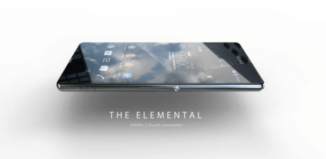 Sony Xperia Z4 leaked images and renders 1
