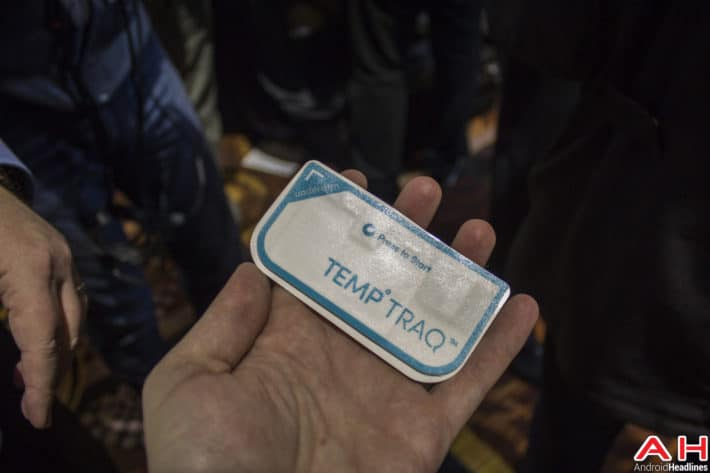 Gadgets of CES 2015: TempTraq – Monitor your Child's Temperature with a Smart Patch