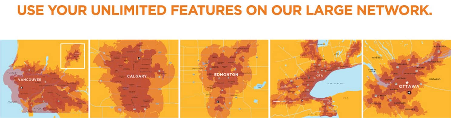 WIND Mobile Coverage Map