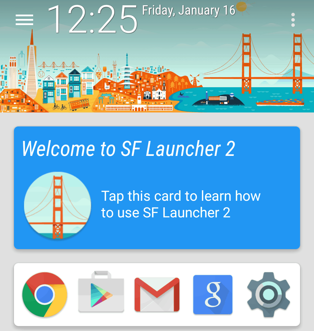 Welcome to SF Launcher 2