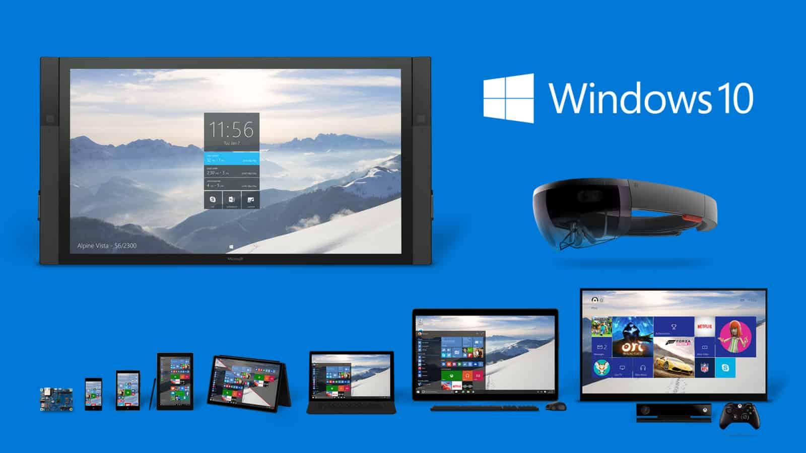 Windows 10 Fam