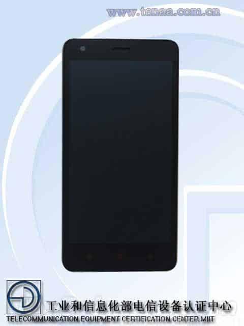 Xiaomi Leadcore handset TENAA 2