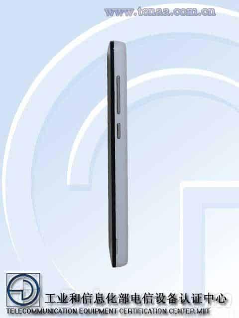 Xiaomi Leadcore handset TENAA 3