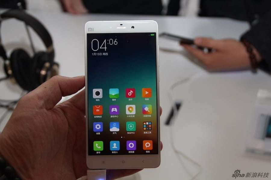 Xiaomi Mi Note and Mi Note Pro hands on Sina Technology 10
